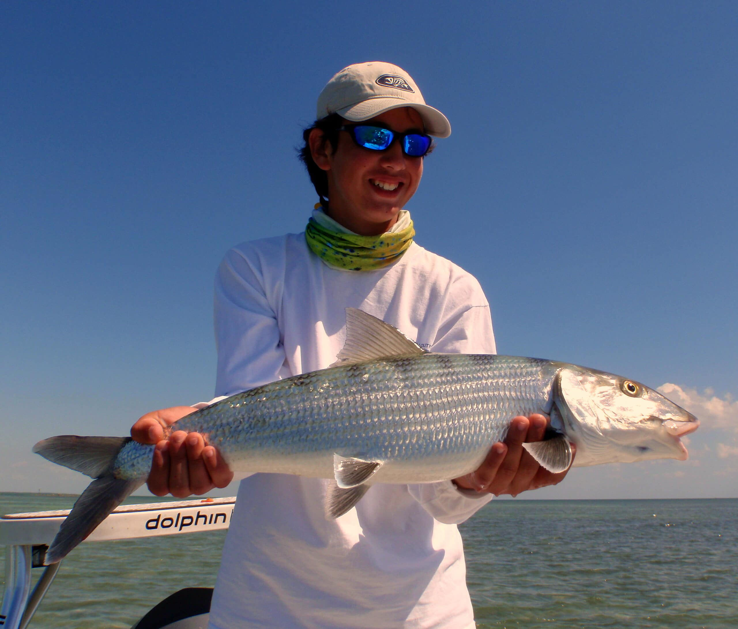 Fly fishing bonefish miami biscayne bay flats fishing for Fly fishing miami