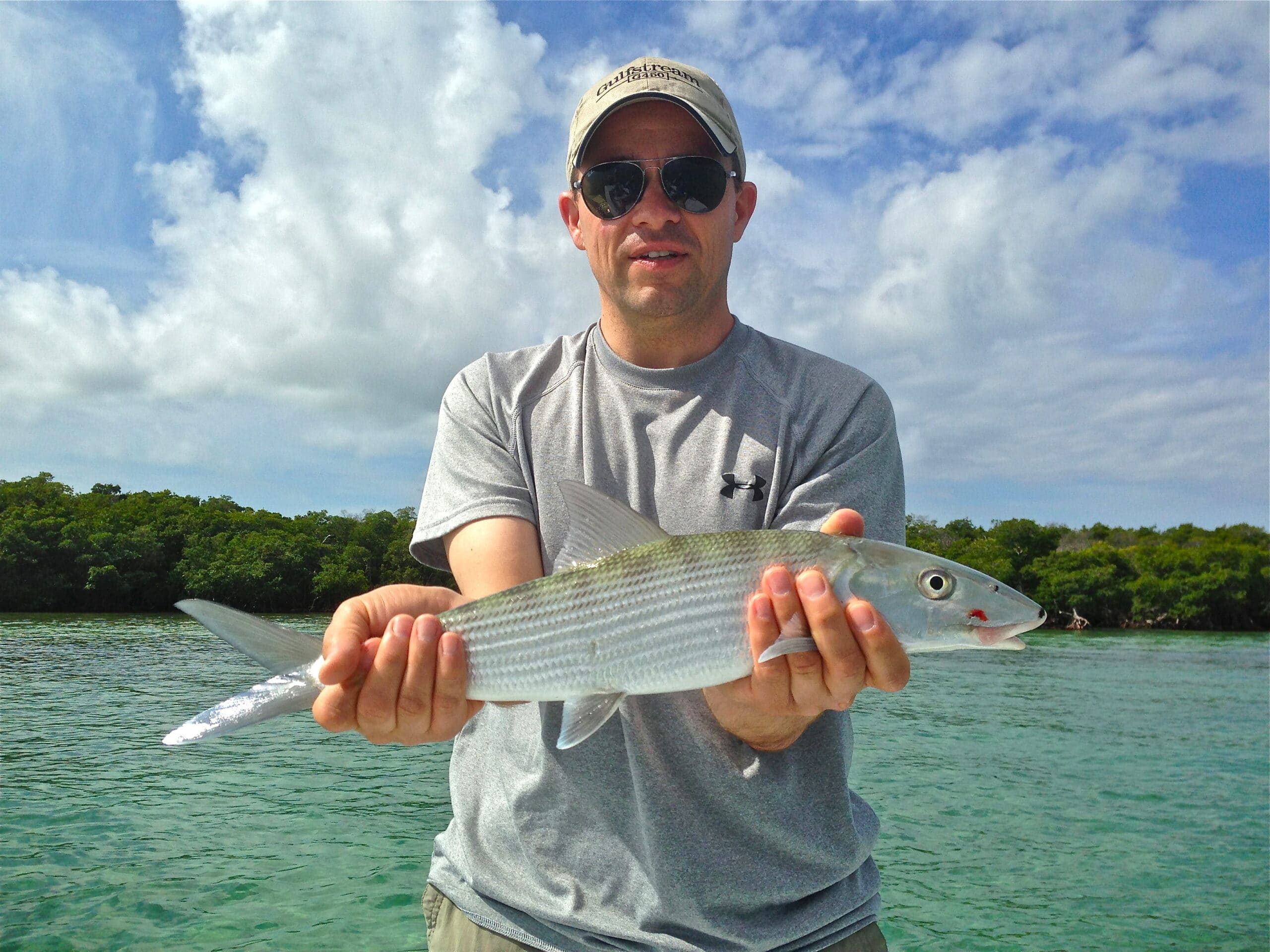 Miami bone fishing in the spring great bonefish action in for Chasing tails fishing report