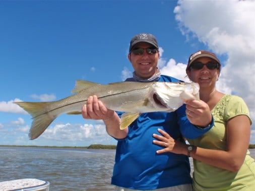 Snook Fishing Everglades