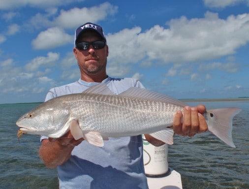 Fly Fishing Redfish Islamorada FLorida