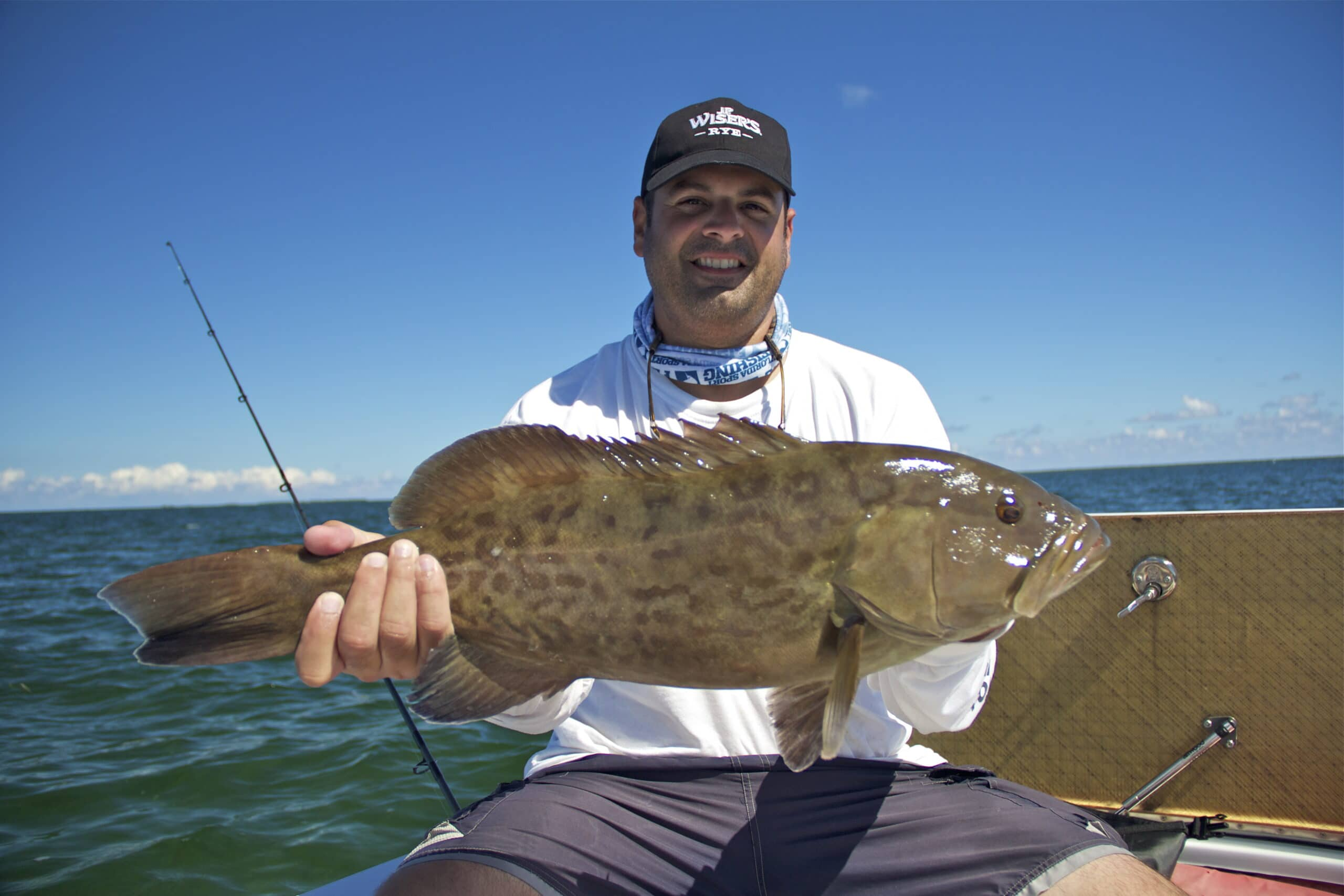 Miami Inshore Fishing Report|Catching Big Grouper In Shallow Water
