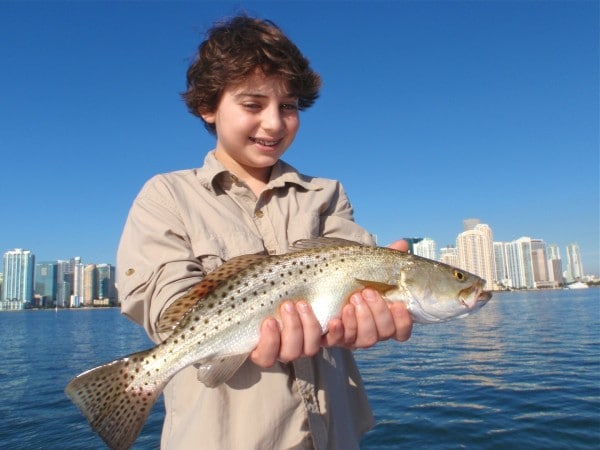 Wintertime SeaTrout Fishing in Miami, FL