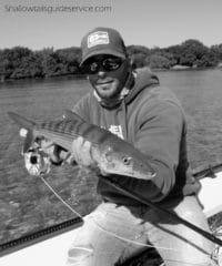 Bone fishing with Capt. Raul Montoro
