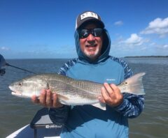 Flats fishing for red fish