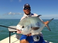 Big Islamorada Permit on fly