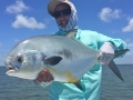 Zack with his first Biscayne Bay permit