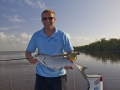 Fly fishing juvenile everglades tarpon