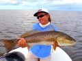 Red fishing in Everglades National Park