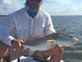 Juan from Panama with his first fly caught redfish