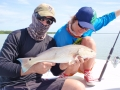 Flats fishing for reds